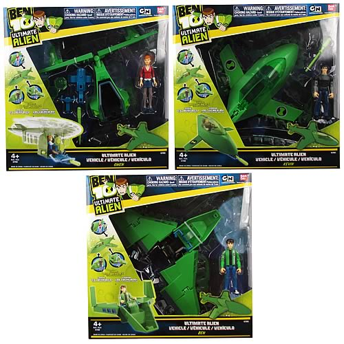 Ben 10 Ultimate Alien Alien Utility Vehicles Set