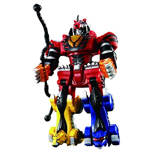 Power Rangers Jungle Fury Jungle Pride Megazord Power Rangers Deluxe J...