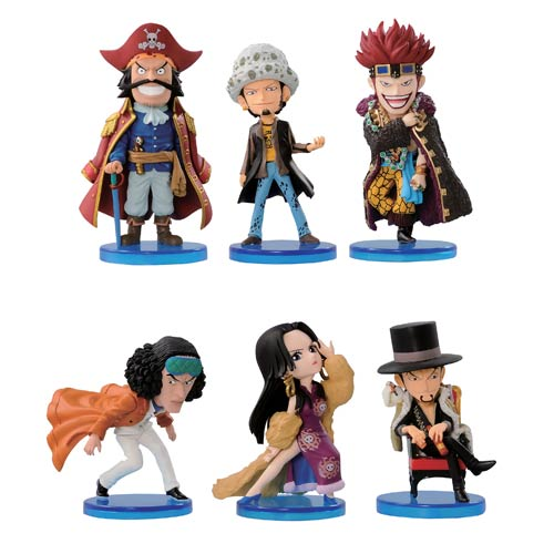One Piece World Collectible Mini-Figures Series 1 Set