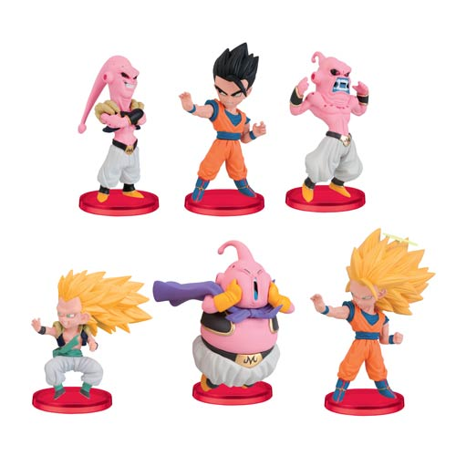 Dragon Ball Z WCF Series 1 Mini-Figures Set