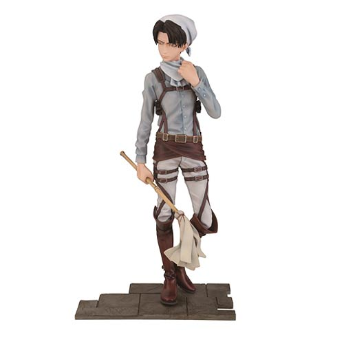 Attack on Titan Levi Cleaning Version Statue