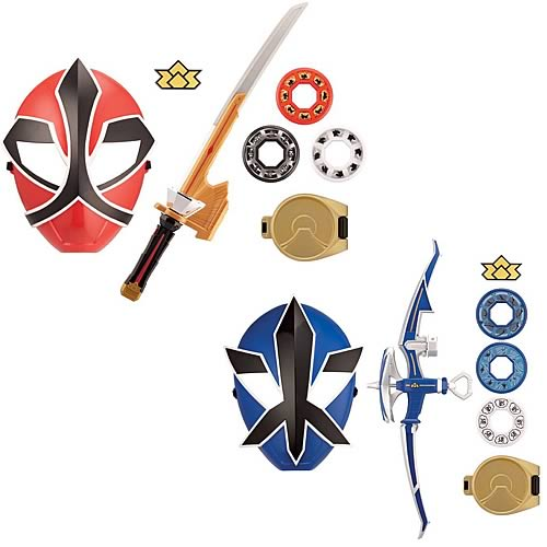 Power Rangers Samurai Training Set Wave 1 Case