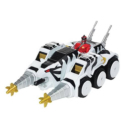 Power Rangers Samurai Tiger Tank Vehicle with Figure