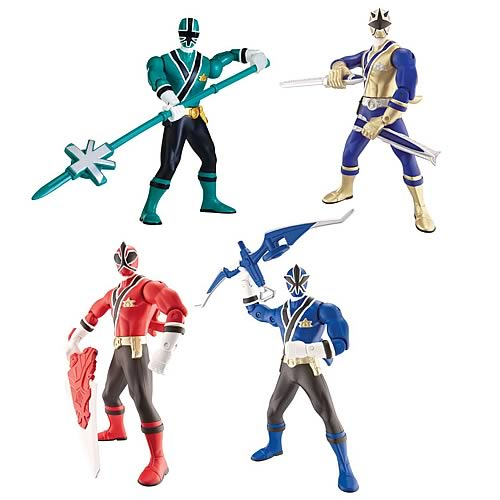 Power Rangers Samurai Battle Wave 1 Action Figure Case