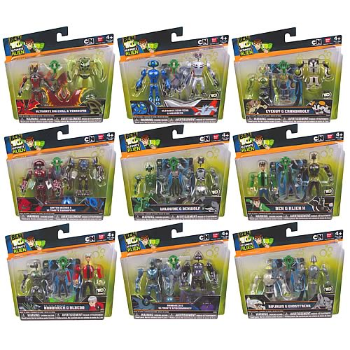Ben 10 Ultimate Alien 2011 Creation Chamber Wave 1 Case