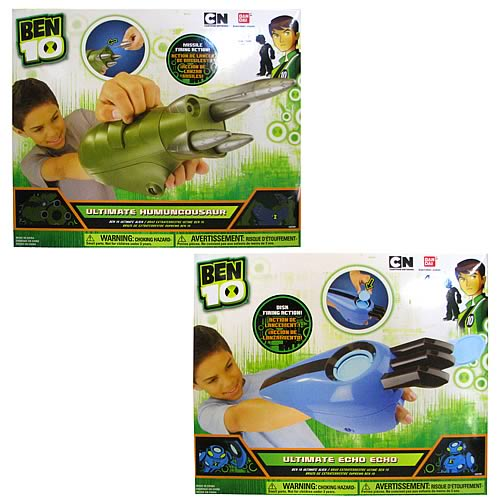 Ben 10 Ultimate Alien Arms 2012 Wave 1 Case