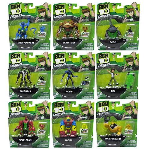 Ben 10 Omniverse Wave 3 Action Figure Case