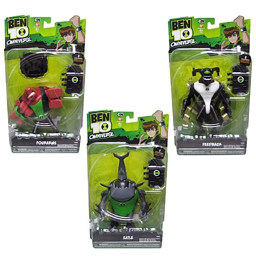 Ben 10 Omniverse Wave 2 Talking Action Figure Set