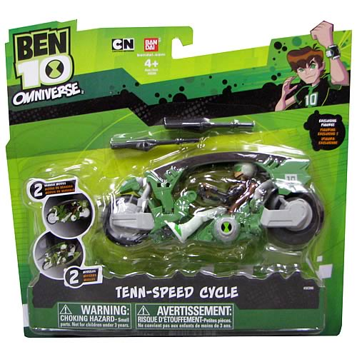 Ben 10 Omniverse Neutron Cycle with Ben Figure