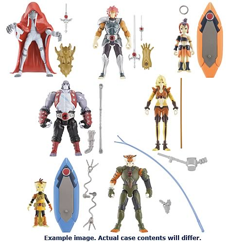 ThunderCats 4-Inch Basic Figure Wave 1 Revision 1 Case