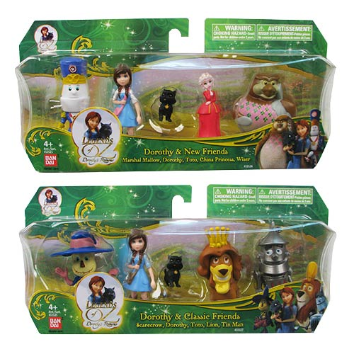 Legends of Oz Dorothy's Return Mini-Figures 4-Pack Set