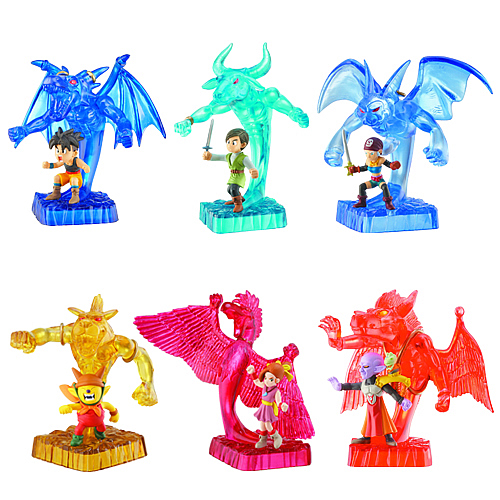 Blue Dragon 3-Inch Figure 2-Pack Wave 1 Case