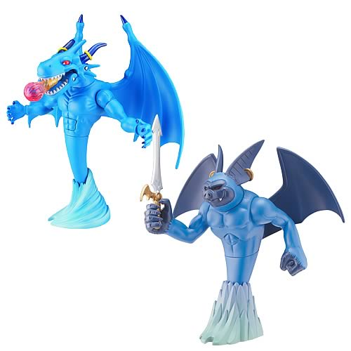 Blue Dragon 7-Inch Action Figure Wave 2 Set