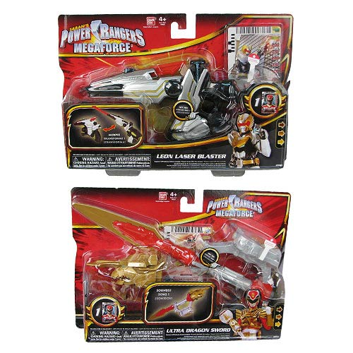 Power Rangers Megaforce Ranger Battle Gear Wave 4 Case