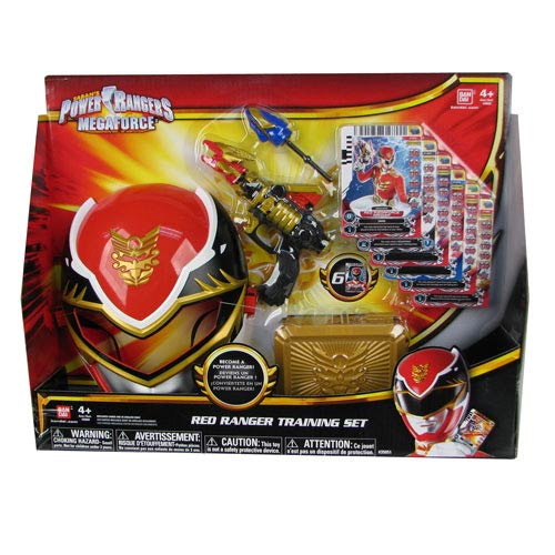 Power Rangers Red Ranger Training Set