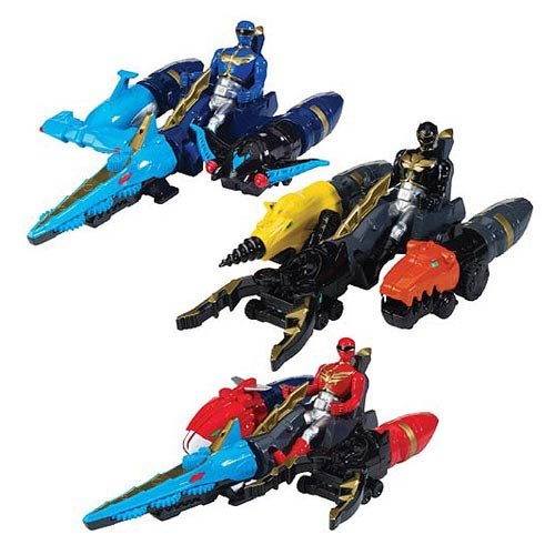 Power Rangers Megaforce Zord Vehicle with Figure Case
