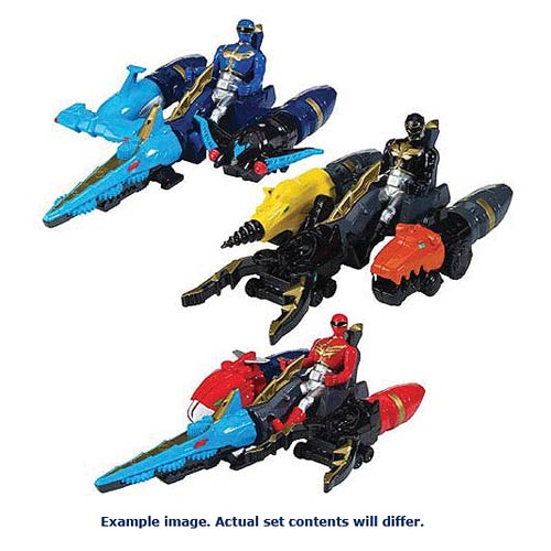 Power Rangers Megaforce Zord Vehicle and Figure Wave 2 Set