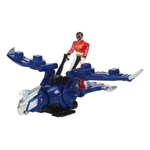 Power Rangers Megaforce Gosei Wonder Vehicle with Red Ranger