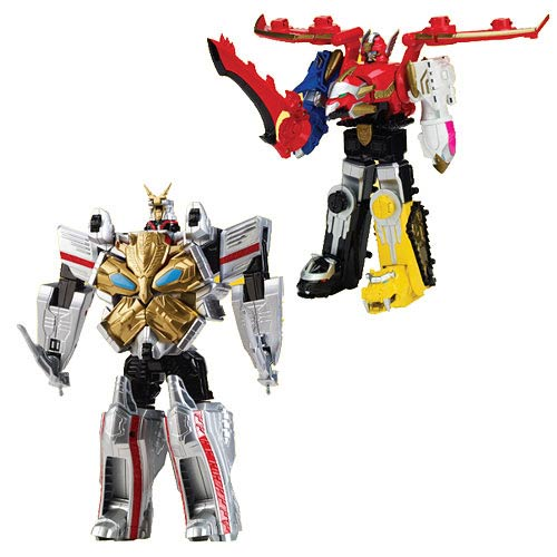 Power Rangers Megaforce Deluxe Megazord Figure Wave 2 Case