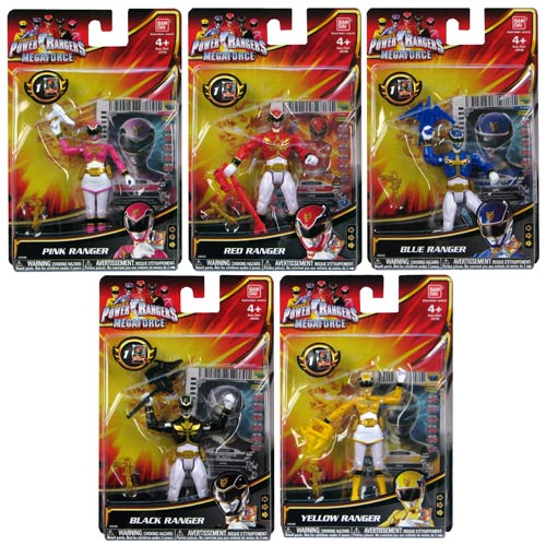 Power Rangers Megaforce Basic Action Figure Wave 1 Case
