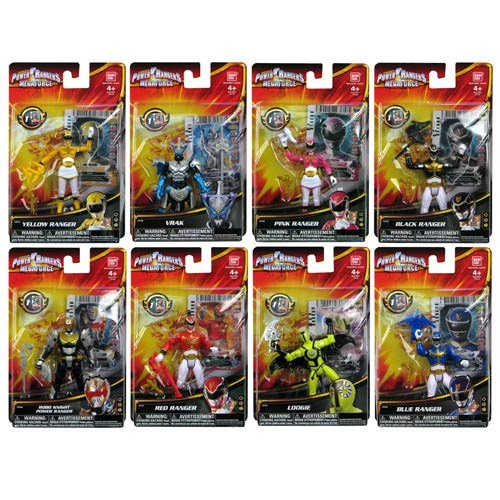 Power Rangers Megaforce Basic Action Figure Wave 2 Case