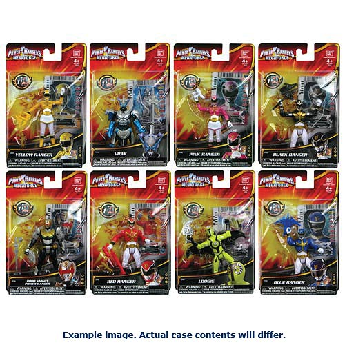 Power Rangers Megaforce Basic Action Figure Wave 3 Case