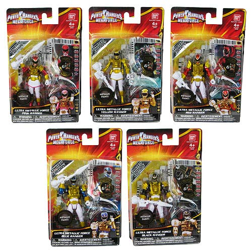 Power Rangers Basic Metallic Force Action Figure Case