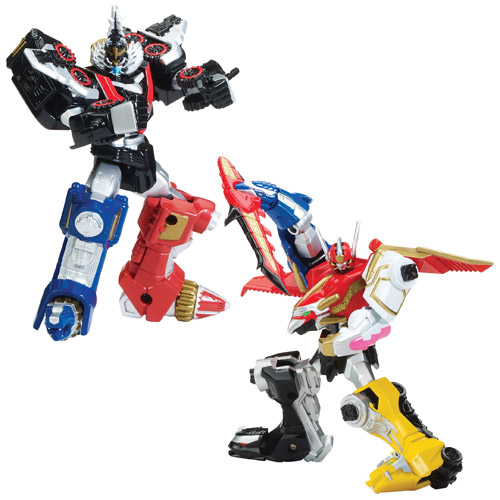 Power Rangers Megaforce Megazord Action Figure Half Case