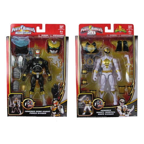 Power Rangers Megaforce Armored Might Figure Wave 5 Set