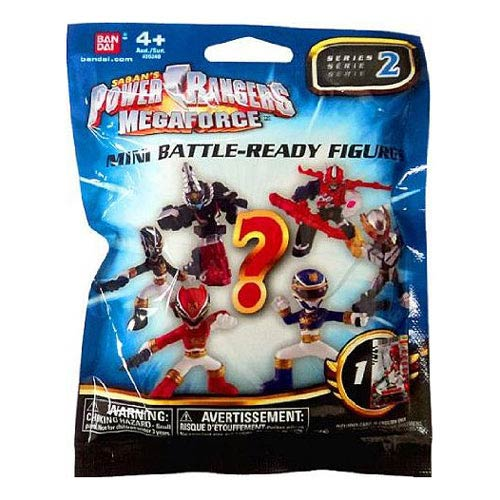 Power Rangers Megaforce Mini-Figure Wave 2 Case