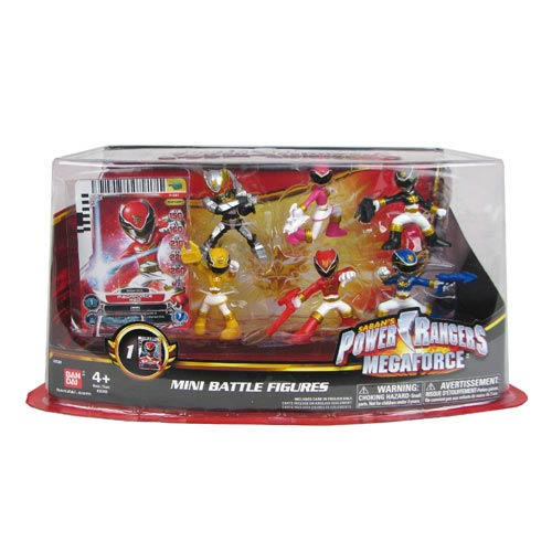 Power Rangers Megaforce Mini-Figure 6-Pack
