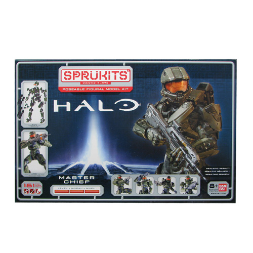 Halo Master Chief SpruKits Level 3 Model Kit