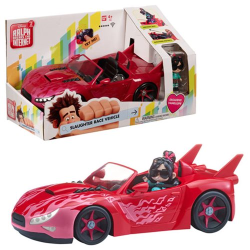 Ralph Breaks the Internet Vehicle with Vanellope Figure