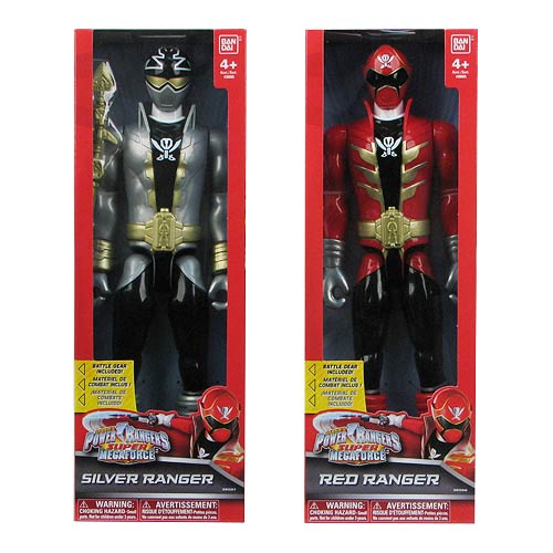 Power Rangers Super Megaforce 12-Inch Figure Wave 2 Set