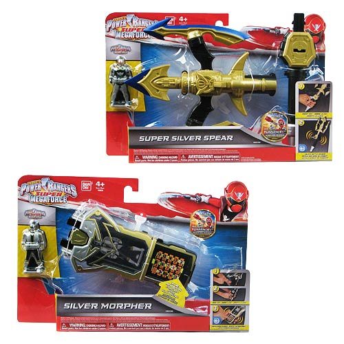Power Rangers Super Megaforce Battle Gear Wave 2 Set