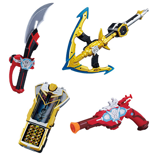 Power Rangers Super Megaforce Battle Gear Wave 3 Set
