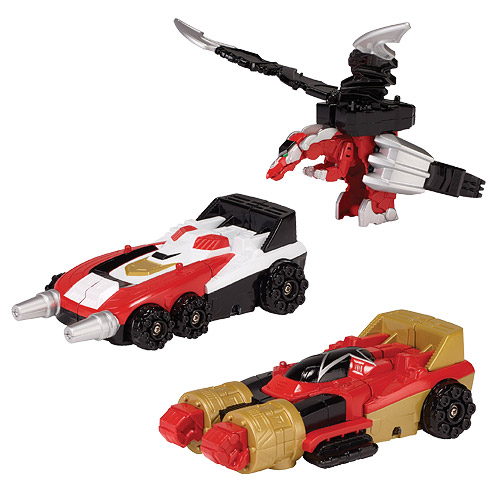 Power Rangers Super Megaforce Zord and Key Wave 1 Case