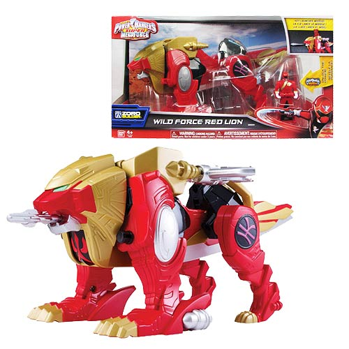 Power Rangers Super Megaforce Wild Force Red Lion Zord