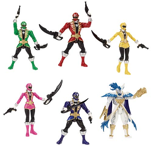 Power Rangers Super Megaforce 5-Inch Figures Wave 3 Case