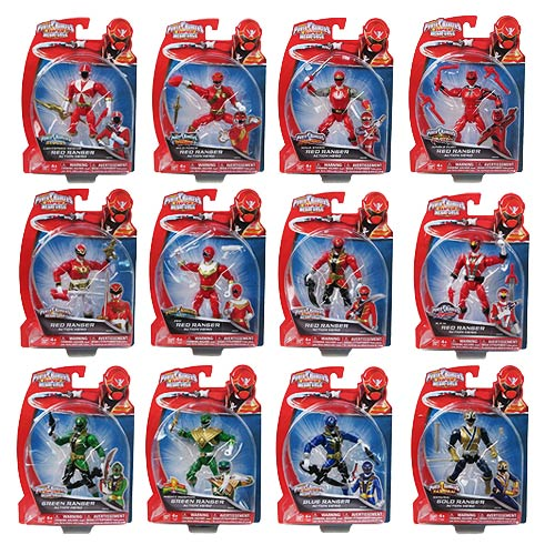 Power Rangers Super Megaforce 5-Inch Figures Wave 4 Set