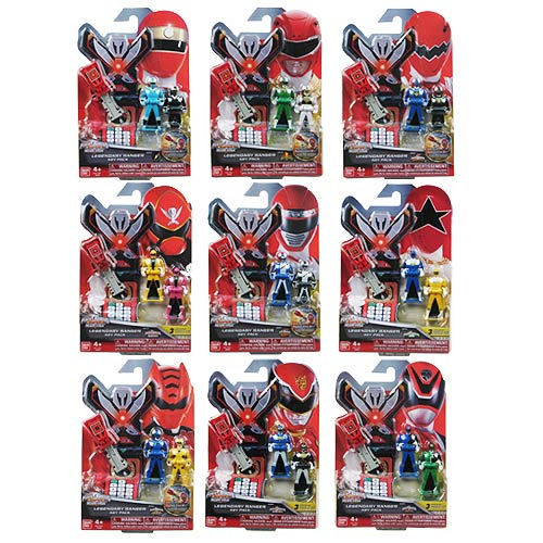 Power Rangers Super Megaforce Ranger Key Pack Wave 4 Set