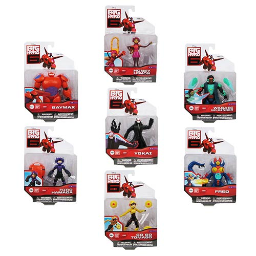 Big Hero 6 Basic Action Figure Case