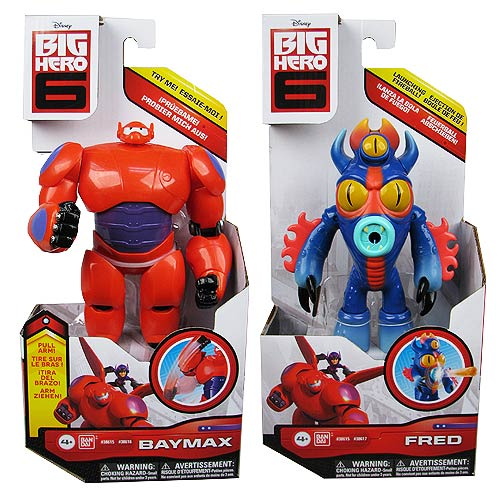 Big Hero 6 6-Inch Action Figure Set