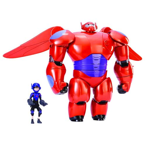 Big Hero 6 Marvel Baymax Deluxe Flying Action Figure