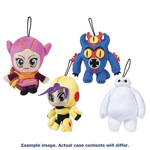 Big Hero 6 5 1/2-Inch Plush Case