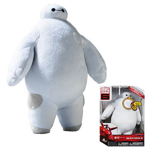 Big Hero 6 Baymax 10-Inch Talking Plush