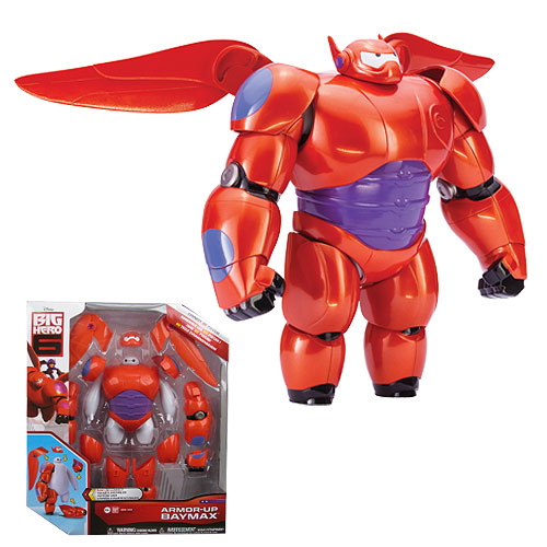 Big Hero 6 Marvel Baymax Armor Up Action Figure