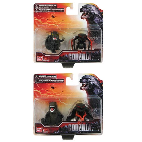 Godzilla 2014 Movie Chibi Action Figure Set