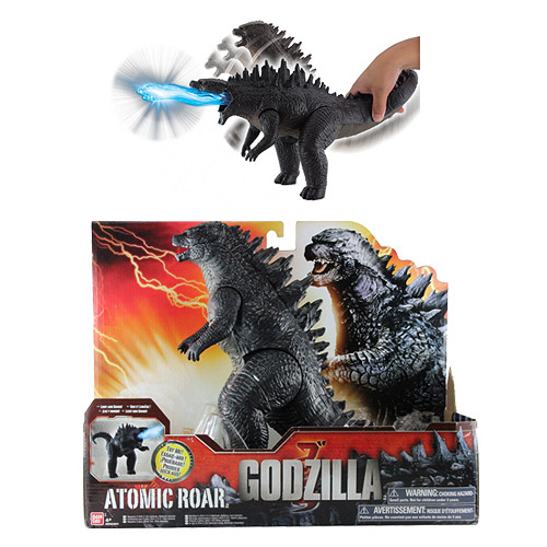 Godzilla 2014 Movie Godzilla Deluxe Attack and Roar Figure