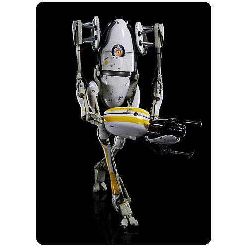 Portal 2 P-Body 1:6 Scale Light-Up Action Figure